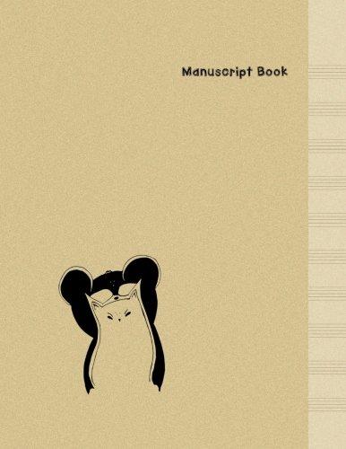 Download Manuscript Paper: Cat & Bear - Minimal Design Music Manuscript Book -  Large (8.5 x 11 inches) - 10 Staves, 100 Pages (manuscript notebook, blank ... Cat & Bear Manuscript Paper Book) (Volume 1) pdf epub