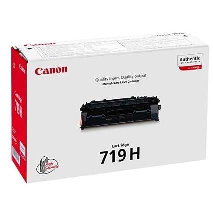 Canon 719H Cartucho de toner original Negro para Impresora ...