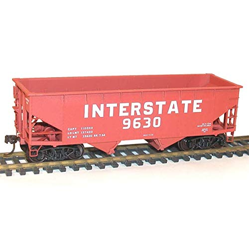 Accurail ACU7736 HO KIT Offset Twin Hopper, Interstate