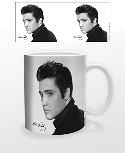 Elvis Presley Portrait Music Coffee Mug