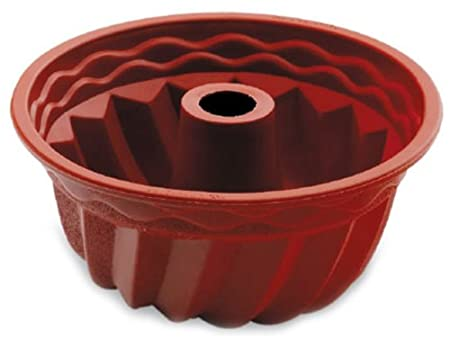 Lacor - 66735 - Molde Savarin Alto Silicona - Rojo: Amazon.es: Hogar