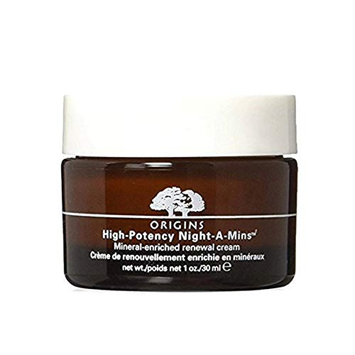 Origins High Potency Night-A-Mins Mineral Enriched Renewal Cream UNBOX 30 Ml 1 Oz ()