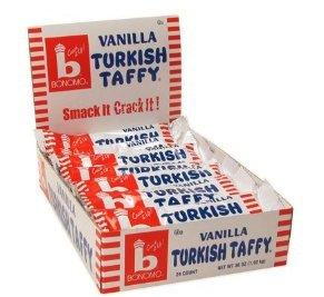 Bonomo Turkish Taffy Vanilla Flavor (Pack of 24) (Bonomo Turkish Taffy)
