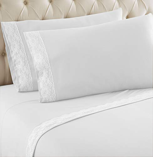 - Thermee Micro Flannel Sheet Sets, Full, Snow