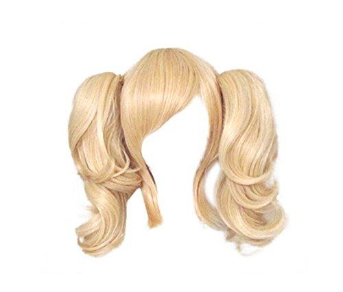 Eforbuy 2 Ponytails 35cm Blonde Cosplay Wigs Women's Costume Wigs ()