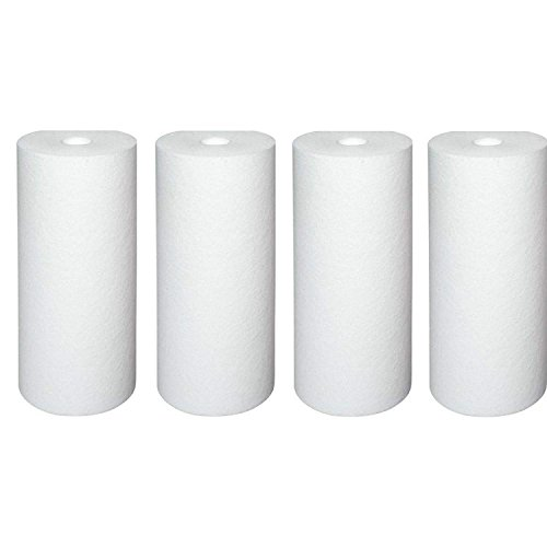 Pentek DGD-5005 Dual Gradient Sediment Water Filters (10'' x 4.5'') - 4 by Pentek