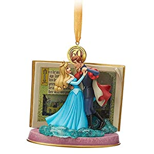 2019 Sleeping Beauty Legacy Sketchbook Ornament – Blue Dress – Limited Release