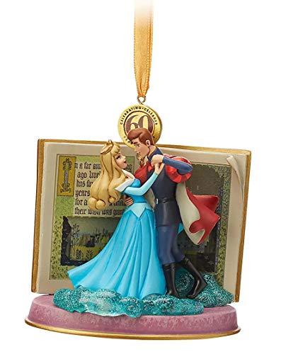 2019 Sleeping Beauty Legacy Sketchbook Ornament - Blue Dress - Limited Release