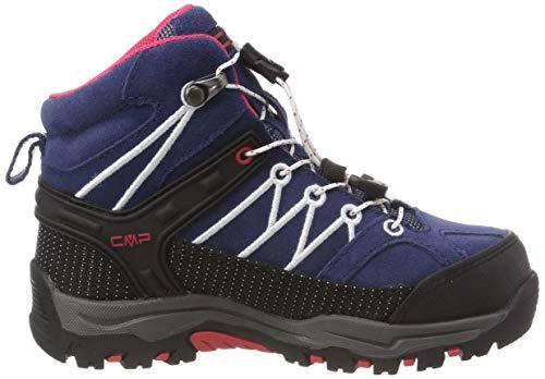 Mixte De Bleu Enfant Cmp marine Chaussures Hautes Mid Rigel corallo Randonnée 36mc wqxYT