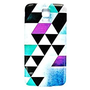 LHY Geometry Pattern Thin Hard Case Cover for Samsung Galaxy S5 I9600