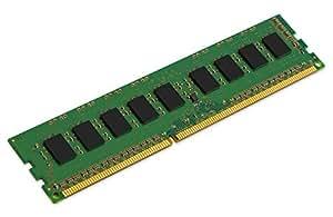 Kingston Technology Value RAM 4GB 1600MHz DDR3 PC3 12800 ECC CL11 DIMM SR x 8 with TS Desktop Memory KVR16E11S8/4