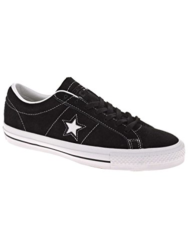 Converse Men One Star Skate Ox (Black)-10.5 (Cons Converse Women Shoes)