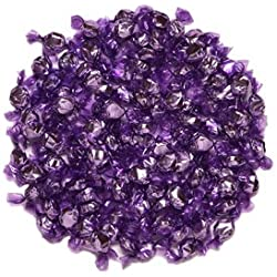 Purple Hard Candy Wrapped in Purple Foil - Grape Flavor 2.5 Pounds