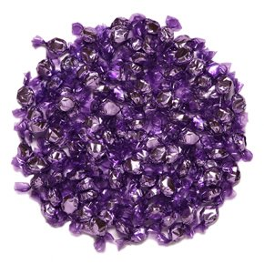 - Purple Hard Candy Wrapped in Purple Foil - Grape Flavor 2.5 Pounds