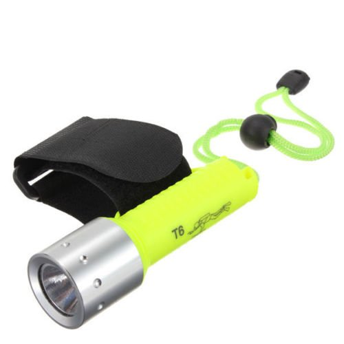 1600 Lumens CREE XM-L T6 LED Waterproof Diving Flashlight - 5