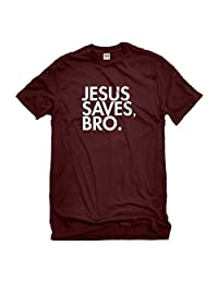Indica Plateau Jesus Saves Bro Mens T-Shirt