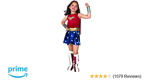 Amazon super dc heroes wonder woman childs costume medium amazon super dc heroes wonder woman childs costume medium toys games solutioingenieria Images
