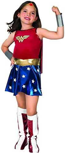 Super DC Heroes Wonder Woman Child's Costume, Medium
