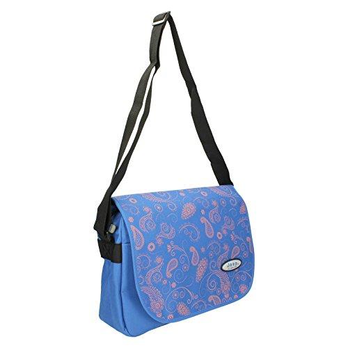 Jeep , Damen Satchel-Tasche Blau