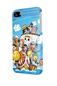 ip40552 One Piece Heroes Glossy Case Cover For Iphone 4/4s