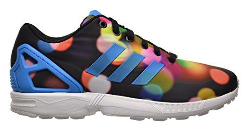 Adidas ZX Flux Men's Shoes Core Black/Brave Blue b23984 (11 D(M) US)
