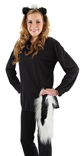 Costumes Halloween But Cute Quick (Elope Skunk Ears  and  Tail)