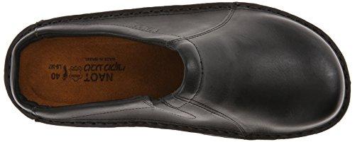 Naot Mens Bjorn Leather Sandals Black