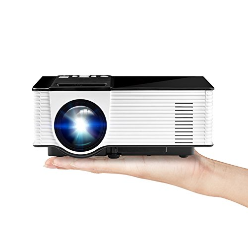 1080P LED Projector (Black/White) - 9