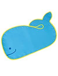 Skip Hop Moby Bathmat with Suction Base, Blue