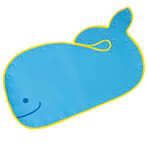 Skip Hop Moby Bathmat with Suction Base, Blue