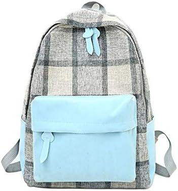 7af3843271b8 Sunbona (TM) Schoolbag Women's Canvas Bag Retro Junior High School ...