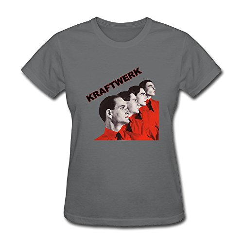 Seico Women's Kraftwerk Band Tees DeepHeather Size (Autobahn Backpack)