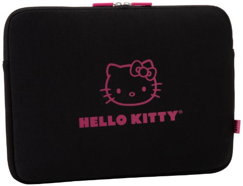 Hello Kitty SANLC0002 Laptop Case,Black/Pink,One Size