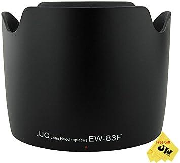 JJC LH-83F Lens Hood For Canon EF 24-70mm F 2.8 L USM Replaces EW-83F Shade