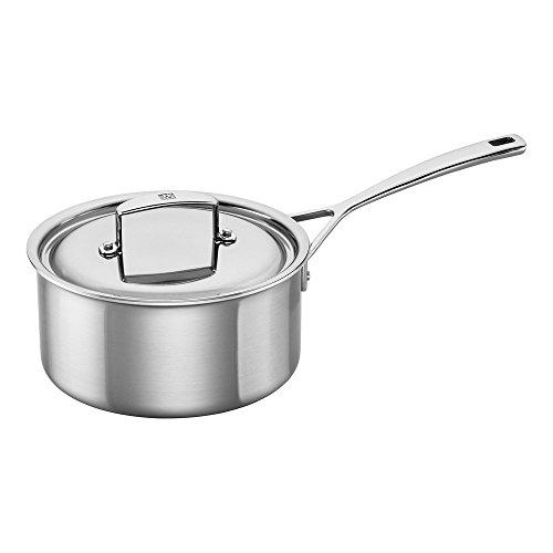 ZWILLING J.A. Henckels 66085-200 Aurora Saucepan, 3 quart, Silver, Stainless Steel