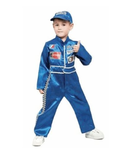 Nascar Halloween Costumes Toddler (Racing Team Pit Crew - Child Costume - Large 10-12)