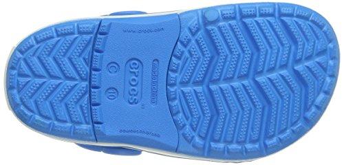 Crocs Azul Niños Crocslights Unisex ocean Zuecos Clog white Ps wxr41gqwYF