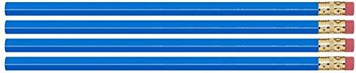 Blue Hexagon #2 Pencil, Eraser. 36 Pack. Express Pencils TM