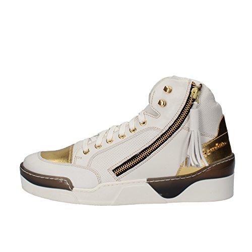 BRACCIALINI sneakers White Leather AH384 (9 US / 39 EU)