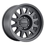 "Method Race Wheels 704 Matte Black 17x8.5"" 6x5.5"", 0mm offset 4.75"" Backspace, MR70478560500"
