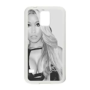 Bloomingbluerose Nikki Minaj,black Samsung Galaxy S5 Cases, {White}