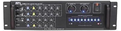 API A-801 600W Professional Karaoke AV Mixing Amplifier