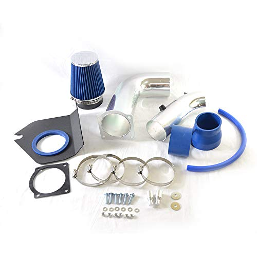 Lizudian Performance Cold Air Intake + Blue Air Filter for 1999 2000 2001 2002 2003 2004 Ford Mustang 3.8L V6
