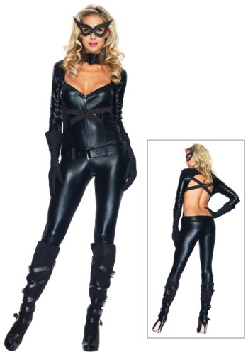 Black Cat Girl Costume (X-Small)