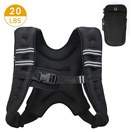 ZELUS Weighted Vest 20lbs