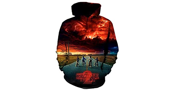 Stranger Things Men Women Autumn Winter wear Tracksuit Long Sleeve All Over Printed 3D Hooded Sweatshirt Hoodies S at Amazon Mens Clothing store: