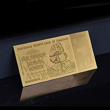 Uteruik Gold Banknotes - Réplica de Billetes Falsos Dorados ...