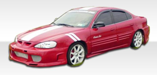 Kombat Kit (1999-2005 Pontiac Grand Am 4DR Duraflex Showoff 3 Body Kit - 4 Piece - Includes Showoff 3 Front Bumper Cover (102162) Kombat Rear Bumper Cover (102161) Kombat Side Skirts Rocker Panels (102157))