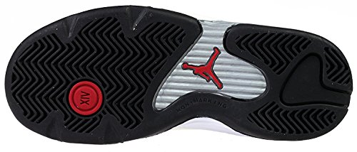 Baby Nike Jordan 14 Retro BP Black Toe Basketball Shoes - 654972 102 White/Varsity Red/Cement Grey/Black yw56aI7O