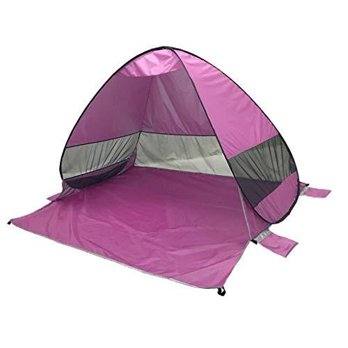 コイル秘書再撮りFenteer 簡単セットアップ 自動ポップアップ ビーチ テント 日シェルター キャンプ キャノピー 全10色